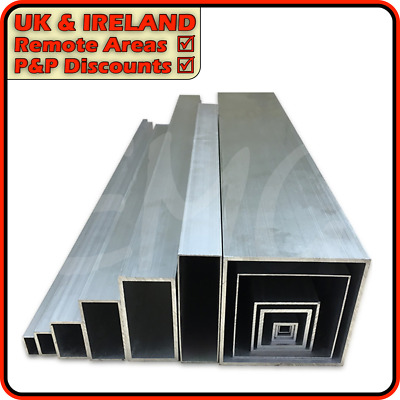 Aluminium Box Section║DISCOUNTED due to defect║12mm - 150mm