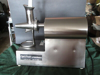 Opti-Fresh Wheatgrass Juicer by Nutrifaster VERY CLEAN CONDITION