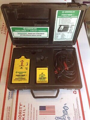 TESTED Greenlee Power Finder 2007 Wire Tracer Tracker #SM1001