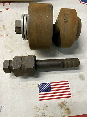 """GREENLEE 3"""" DIAMETER PUNCH RADIO CHASSIS 500-4258 Pls Rd #4644"""