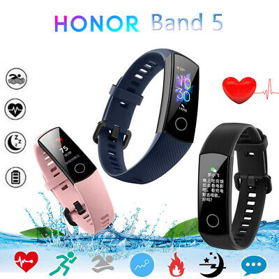 Huawei Honor Band 5 Armband Bluetooth 4.2 Heart Rate Fitness Sports Smart Watch