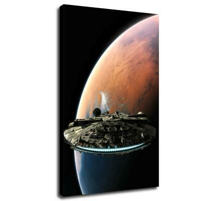 star wars poster HD Canvas prints Home Decor Wall art picture 12X20inch