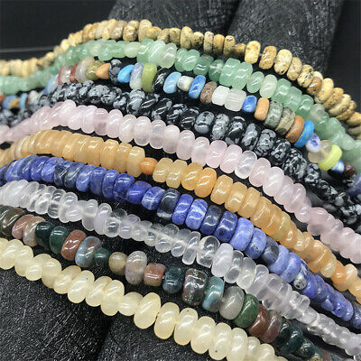 6-8mm Natural Crystal Loose Beads Diy Accessories Jewelry Hole Healing Craft
