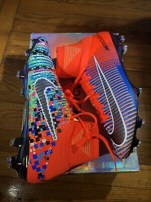 brand new 4438d f2a08 NIKE MERCURIAL SUPERFLY 5 US9 EA Sports Ltd Neymar Mbappe R9 Cristiano  Ronaldo