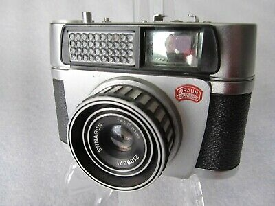 Vintage 1950's Braun Paxette Electromatic - 35mm film camera - Germany