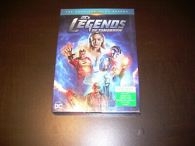 The Complete Third Season 3 Three NEW Sealed DC's LEGENDS OF TOMORROW DVD 2018