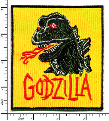 15 Pcs Embroidered Iron/Sew on patches Godzilla King Of The Monsters AP024gZ2