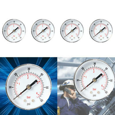 Mini Low Pressure Gauge For Fuel Air Oil Or Water 50mm 0-15/30/60/100/160/300PSI