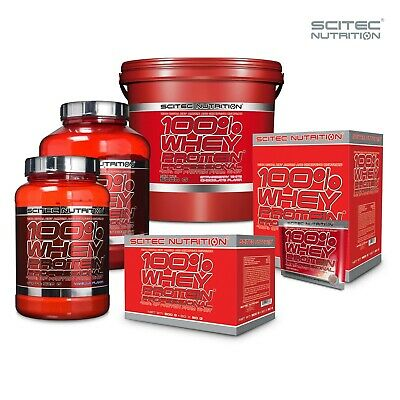 Scitec Nutrition 100% Whey Protein Professional Isolate Powder Concentrate