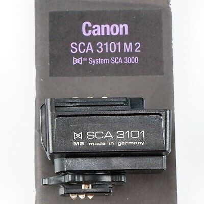 Metz SCA 3101 M2 Blitzadapter Flash Adapter für analoge Canon EOS Kameras