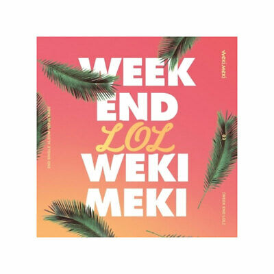 WEKI MEKI WEEK END LOL 2ND Single Repackage Album CD PhotoBook PhotoCard Poster