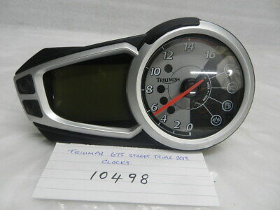 Triumph 675 Street Triple 2013 Clocks  (10498)