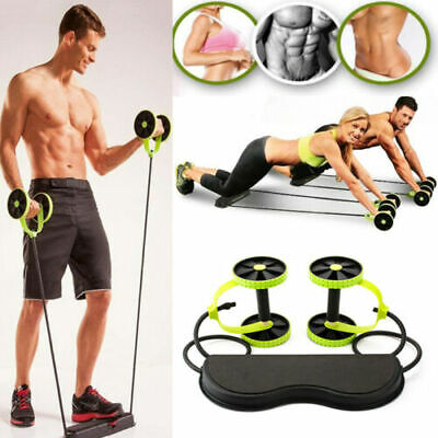 Power Roll Ab Trainer Abdominal and Full Body Workout Gym Fitness
