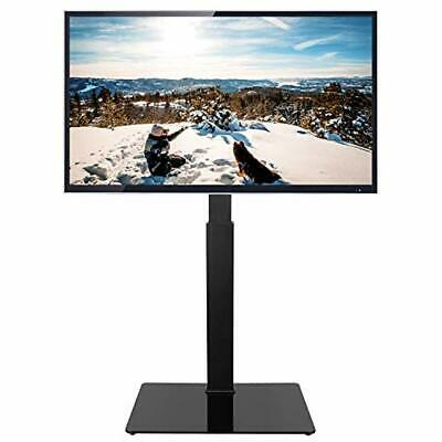 Floor TV Stand 32 to 65 inch Screen Base with Swivel Height Adjustable Mount
