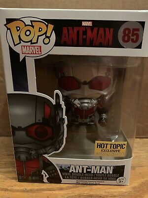 Funko Pop Marvel Ant-Man Red Glow in The Dark Hot Topic Excl #85 NIB