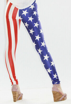 465018 970-08-04875 Sexy Leggings The Old Glory Sexy Shop Taglia unica 970-08-04