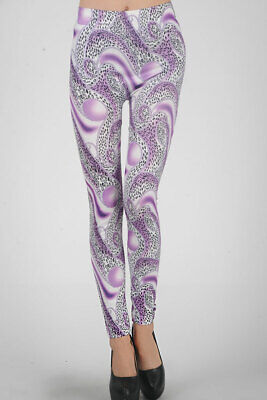465018 970-08-04881 Sexy Leggings Stampa Fantasia Sexy Shop Taglia Unica 970-08-