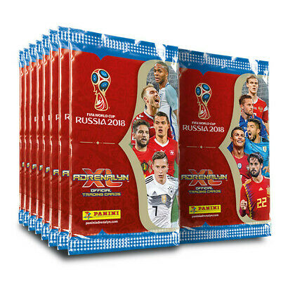 Panini FIFA World Cup Russia 2018 Trading Cards - ADRENALYN XL 15 Sealed Packs