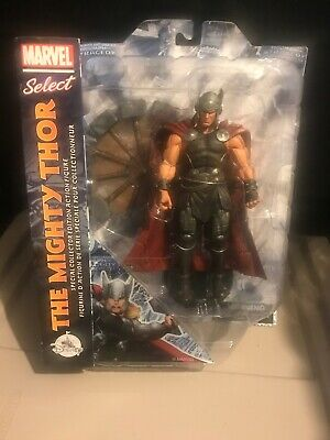 Marvel Select Mighty Thor Spinning Hammer Disney Store Exclusive Avengers