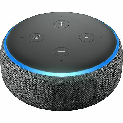 Amazon Echo Dot 3rd Generation Smart Assistant Speaker with Alexa Charcoal