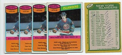 1X MIKE BOSSY 1980 81 O Pee Chee #204 EX-EXMT opc Lots Available MARKED TC