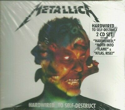 Metallica - Hardwired...to Self-Destruct - New Sealed 2 Cd Set - 2016