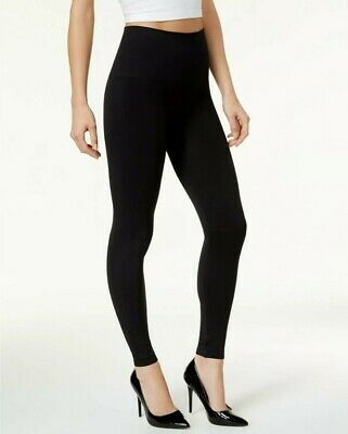 Spanx Cropped Look Me Now Seamless Leggings Port Navy S NEW A288466