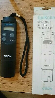 Thermo Electron Corporation Orion 106 Quikchek pH/ATC, 78632-1