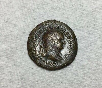 Roman Empire Imperial Coinage Vespasian AE Bronze Dupondius 69-79 AD