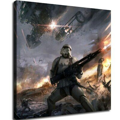 star wars stormtroopers HD Canvas prints Home Decor Wall art picture 12X12inch
