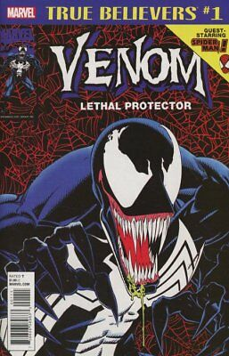 True Believers: Venom: Lethal Protector #1 Regular Cover From Marvel Comics Nm/M