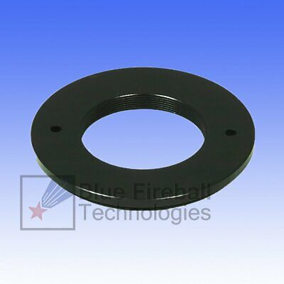 """M48x0.75 (2"""" Filter) Male to M28.5 (1.25"""" Filter) Female Thread Adapter # M-01"""