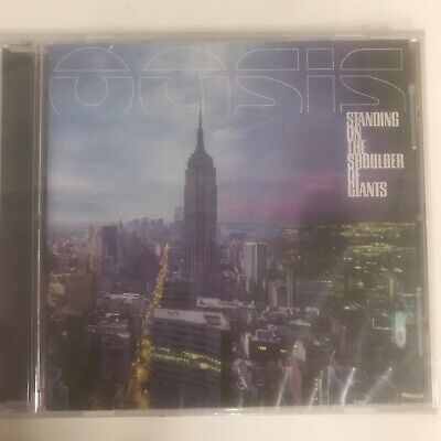 Oasis Standing On The Shoulder Of Giants cd 10 titres neuf sous blister