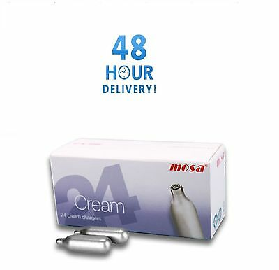 MOSA Nitrous Oxide Cream Chargers Whipped Cream N2O gas NOS NOZ 8g CANISTER