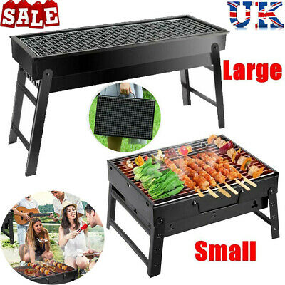 Large BBQ Barbecue Charcoal Grill Portable Party Outdoor Camping Garden Stove UK