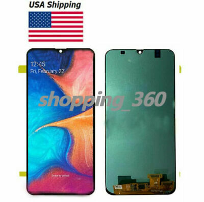 OLED FOR SAMSUNG A30 2019 SMA305G/DS A305FN/DS A305F LCD SCREEN+TOUCH Glass USPS