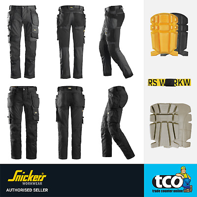 Snickers Work Trousers Allroundwork 6241 Stretch Holster Pocket Trousers