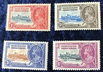 Bechuanaland George V Silver Jubilee 1935 SG111/4 Mounted Mint.
