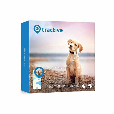 Tractive Dog GPS Tracker Lightweight and Waterproof Dog Tracking Device
