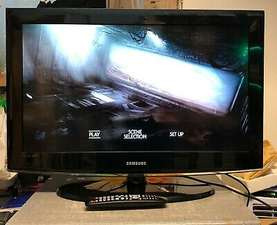 """Samsung Le32A457C1D 32"""" Led Tv Hd Ready Freeview Inc Remote Functions Perfect"""
