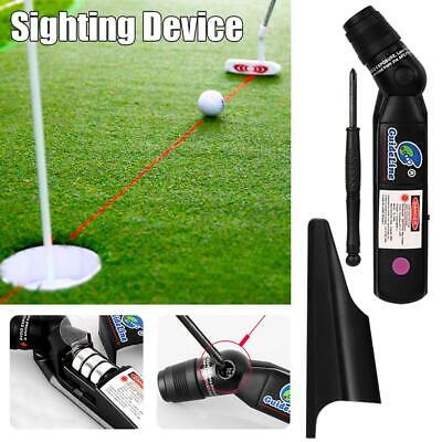 Indoor PGM Golf Laser Training Putter Sighting Device Pointer Putt Practice Aid