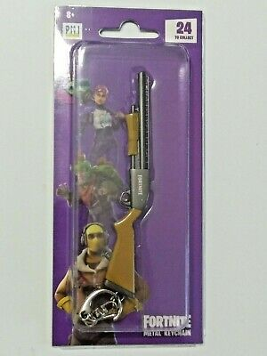 "Epic Games Fortnite Licensed Metal Keychain ""Pump Shotgun"" Zuru"