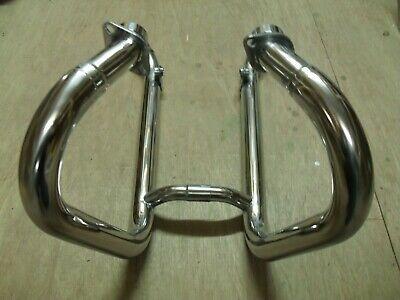 Triumph Bonneville / T100 Exhaust Header Pipes Stainless Fit 2000-2015
