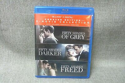 Fifty Shades 3-Movie Collection Blu-Ray (H)