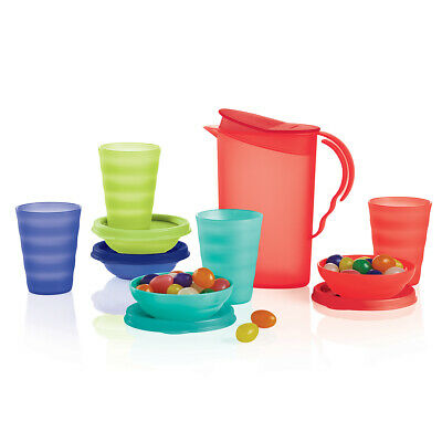 Tupperware Kids Mini Party Play 9-piece Impressions Set - NEW!