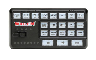 NEW! Whelen CenCom Carbide Amplifier Control Module with Input Expansion Module