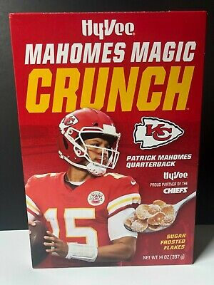 Patrick Mahomes Magic Crunch Cereal LIMITED COLLECTORS Box NEW Chiefs unopened
