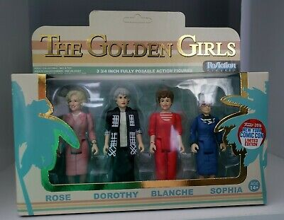 Funko ReAction Golden Girls 2016 NYCC Target Shared Limited Edition Exclusive