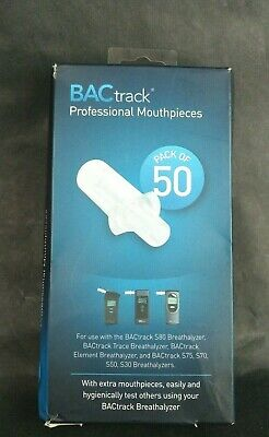 BACtrack Breathalyzer Mouthpiece S80 S30 Pro Element Trace Tube Test Personal