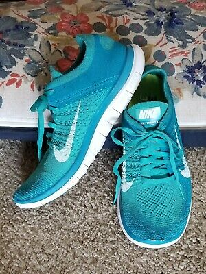 hot sales 6c7c1 8a1d2 NIKE FREE 4.0 Flyknit Running Shoes Women Size 9 Athletic ...